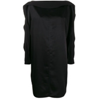 Gianluca Capannolo Plain Shift Dress - Preto