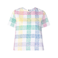 Mira Mikati Flower Embroidered T-Shirt - Branco