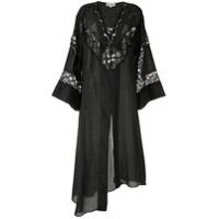 Giacobino Vestido Mangas Longas - Preto