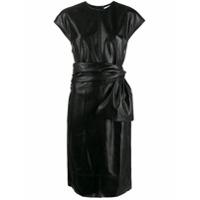 Brognano Vestido Com Cinto - Preto