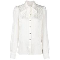 Dolce & Gabbana Blusa Com Laço Na Gola - Neutro