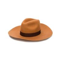 Dsquared2 Chapéu Com Aba Larga E Logo - Neutro