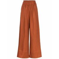 Bondi Born Calça Pantalona Universal - Marrom
