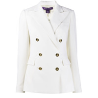 Ralph Lauren Collection Double Breasted Fitted Blazer - Branco