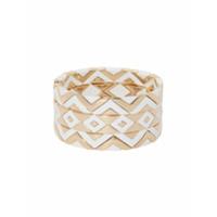 Roxanne Assoulin Conjunto 3 Pulseira Puzzled - Branco