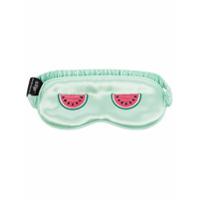 Slip Máscara De Dormir Com Estampa De Melancia - Verde