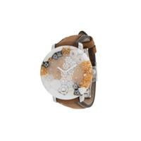Yunik Relógio Klimt 36Mm Pequeno - Marrom