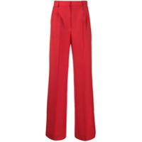 Fendi Calça Pantalona - Vermelho