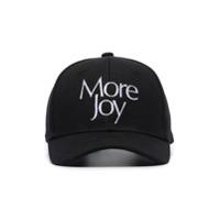 More Joy Boné Com Logo Bordado - Preto