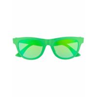 Bottega Veneta Eyewear Óculos De Sol Redondo - Verde
