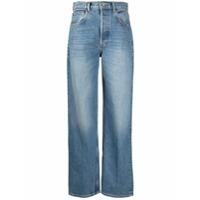 Boyish Jeans Calça Jeans Pantalona Cintura Alta - Azul