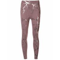 Beyond Yoga Legging Cintura Alta New Lost Your Marbles - Rosa