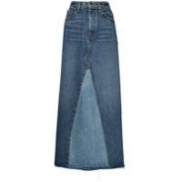 Khaite Saia Jeans Longa Magdalena - Azul