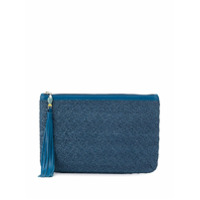 Atelier Swarovski Sea Life Zipped Clutch - Azul