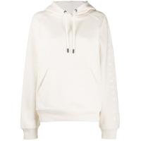 Reebok X Victoria Beckham Moletom Com Logo E Cordão De Ajuste - Branco