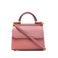 Dolce & Gabbana Bolsa Tote Sicily 58 Pequena - Rosa