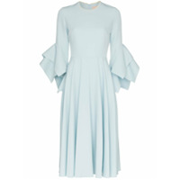 Roksanda Vestido Midi Ayres - Azul
