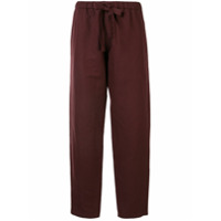 Undercover Calça Pantalona - Vermelho
