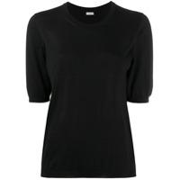 Malo Camisa De Tricô - Preto