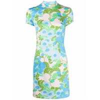Marcia Vestido Com Estampa Floral - Neutro