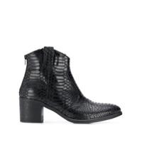 Strategia Ankle Boot 'hem' - Preto