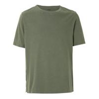 Osklen T-Shirt Lisa Com Fendas - Verde