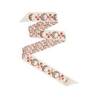 Fendi F Is Fendi Wrappy Scarf - Cinza