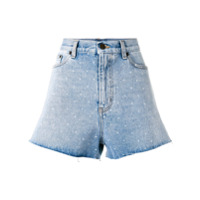 Saint Laurent Short Jeans - Azul