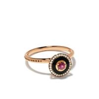 Selim Mouzannar Par De Brincos Mina De Ouro Rosé 18Kt Com Diamantes - Rose Gold