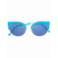 Retrosuperfuture Óculos De Sol 'ilaria' - Azul
