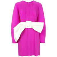 Solace London Vestido Tanzy Com Cinto - Roxo