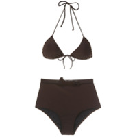 Adriana Degreas Biquíni Hot Pants Com Cinto - Marrom