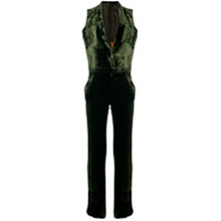 Each X Other Velvet Fluid Jumpsuit - Verde