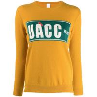 Ultràchic Suéter Com Padronagem - Amarelo