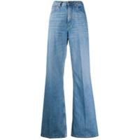 Etro Calça Jeans Flare Com Cintura Alta - Azul