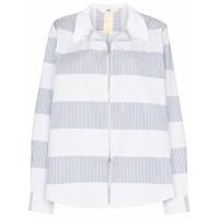 Eytys Daytona Striped Shirt Jacket - Azul