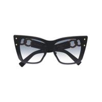 Balmain Eyewear Óculos De Sol X Akoni - Preto