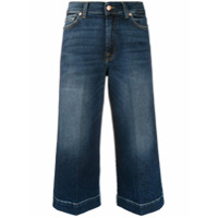 7 For All Mankind Calça Jeans Pantacourt Luxe Vintage - Azul