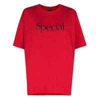 More Joy Camiseta De Algodão Com Estampa De Logo - Vermelho