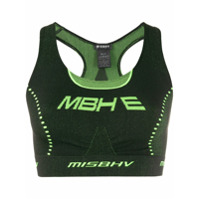 Misbhv Active Future Crop Top - Verde