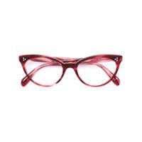 Oliver Peoples Armação De Óculos Arella - Vermelho