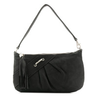 Coccinelle Tassel Shoulder Bag - Preto