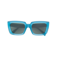 Celine Eyewear Óculos De Sol 'emma' - Azul
