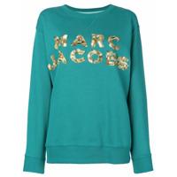 Marc Jacobs Moletom Com Logo Bordado - Green