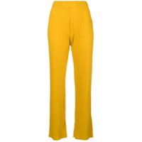 Simon Miller Calça Flare - Amarelo