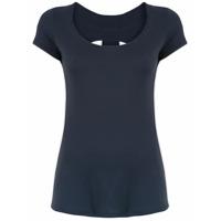 Track & Field Camiseta Com Recortes - Azul