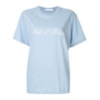 Walk Of Shame Camiseta Com Logo - Azul