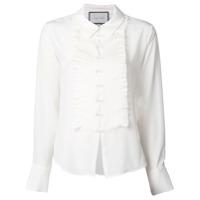 Alexis Camisa Com Pregas - Branco