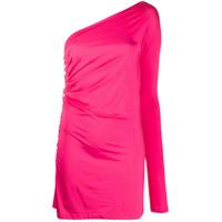 Marcia Vestido Slim Com Ombro Único - Rosa