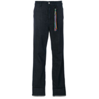Mira Mikati Calça Jeans Reta - Azul